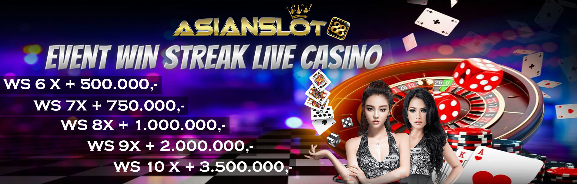 EVENT WS LIVE CASINO BACCARAT